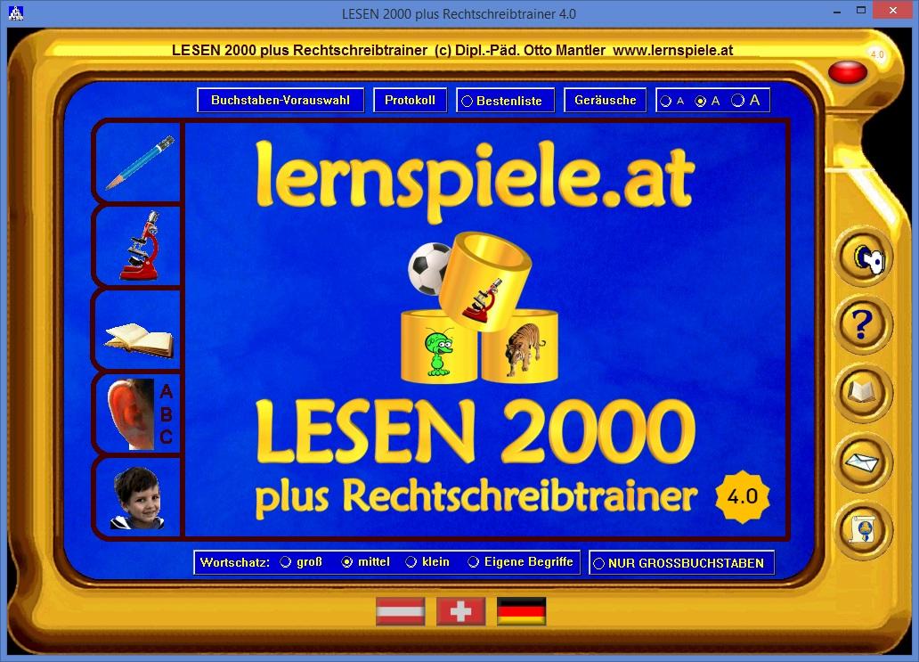 LESEN 2000 plus Rechtschreibtrainer